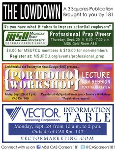 Get the Lowdown for the week of Sept. 17, 2012.