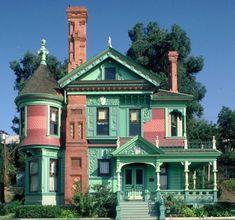 VICTORIAN HOUSE on Pinterest |