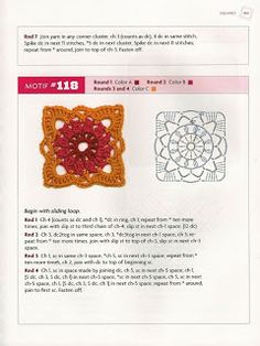 """MOSSITA BELLA CROCHET PATTERNS AND GRAPHICS"" Beyond The Square Crochet Motifs"