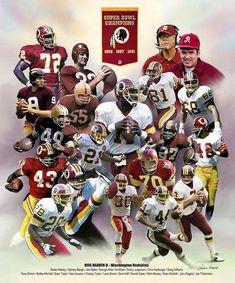 Check out all our Washington Redskins merchandise! Redskins Football, Redskins Fans, Football Team, Redskins Helmet, Redskins Players, Football Memes, Football Prayer, Redskins Super Bowl, Doug Williams