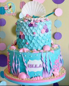 Good Little Mermaid Inspired Party Food, Snacks, Cupcakes With Shimmering Pearls  #babyshowerideas4u #birthdayparty #babyshowerdecorations #bridalshoweu2026