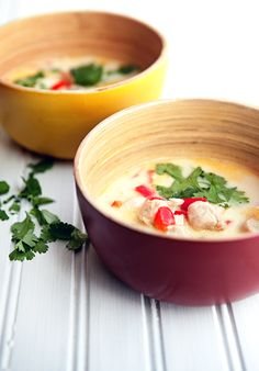 30 minute meals: Prep this easy and delicious recipe for Thai Coconut Soup for a weeknight meal the whole family will love!