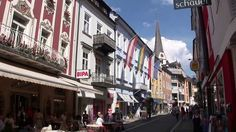 Bad Ischl (Austria) - YouTube.  Bad Ischl is a gorgeous town, known for fabulous Konditorei (baroque, wedding cake interiors with pastries so good you dream of them for years). Baroque Wedding, Salzburg, Pastries, Austria, Wedding Cake, Dreaming Of You, Street View, Interiors, Youtube