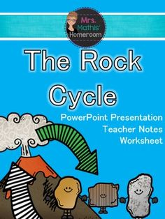 This is a highly engaging, fun and simple lesson! It includes a 30 slide Power Point presentation on the rock cycle and the different types of rocks.While you give your presentation, students recreate igneous, metamorphic and sedimentary rocks with candy chews.