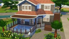 Totally Sims: Mediterranean Mansion • Sims 4 Downloads