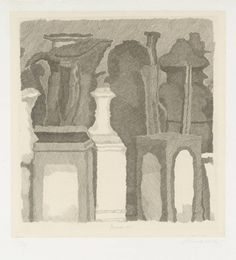 Artist  Giorgio Morandi (1890‑1964)  Title  Still Life with Very Fine Hatching  Natura morta a tratti sottilissimi  Date  1933  Medium  Etching on paper  Dimensions  image: 248 x 238 mm  Collection  Tate  Acquisition  Presented by Senor and Senora Jose Luis Plaza 1979  Reference  P01920