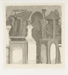 Giorgio Morandi, 'Still Life with Very Fine Hatching' 1933