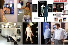 burberry interactive mirrors - Google Search