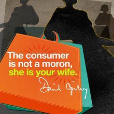 #DavidOgilvy #Quote #Advertising