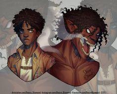 Black Girl Art, Black Girl Magic, Cute Anime Character, Character Art, Good Anime To Watch, Arte Black, Black Cartoon Characters, Tamaki, Dope Cartoon Art