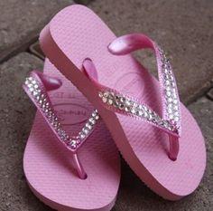 Swarovski Crystal Baby Bling Pink by PiratesandPrincesses on Etsy