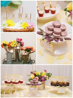 A Baby Is Blooming Floral Baby Shower via Kara's Party Ideas //What a cute theme for a baby shower! I love every little floral detail in it; from the darling printables and stationery to the delectable desserts! This party is positively stunning and is full of ideas that could work for a baby shower, birthday party or floral bridal shower!
