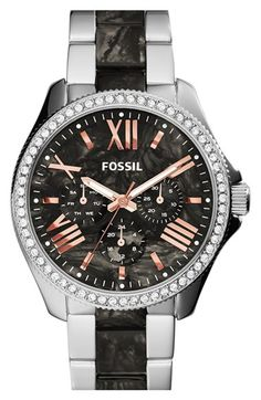 Fossil 'Cecile' Multifunction Bracelet Watch, 40mm available at #Nordstrom