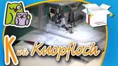 Knopfloch - Knöpfe annähen | Nählexikon A-Z #11 | Nähschule Anleitung Nä...