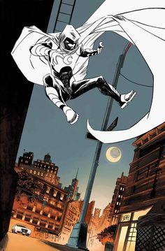 Moon Knight #1 by Declan Shalvey *