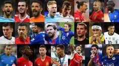 Premios FIFA The Best: Candidatos a mejor jugador de fútbol de 2016