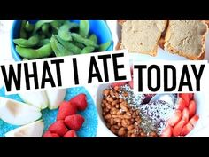 What I ate Today! Healthy + Vegan/Plant Based! - YouTube