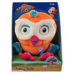 Hootly Talking Large Plush Toy and many more Hoot Hoot Go! and Giggle and Hoot toys available at Funstra Your Favorite, Plush, Games, Toys, Fun, Character, Activity Toys, Clearance Toys, Gaming