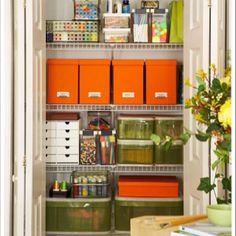 Home office closet organization container store best Ideas
