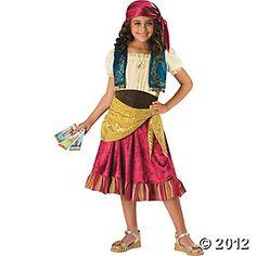 Gypsy Girl's 2B Costume