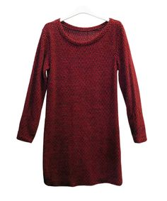 Tunic dress with zigzag pattern, available in grey, beige, red or mustard €29.95 - This item is only available to buy at our store in Amsterdam. www.woontante.com
