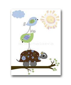 kids art Baby Nursery Decor Art for Children Kids by artbynataera, $14.00