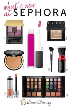 New products to try from Sephora!