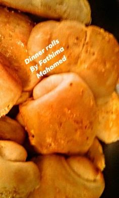 Dinner Rolls recipe by Fatima Mahomed Chocolate Chip Recipes, Mint Chocolate Chips, Italian Desserts, No Cook Desserts, Sandwich Bread Recipes, Cake Recipes, Dinner Rolls Recipe, Quick Easy Dinner, Food Categories