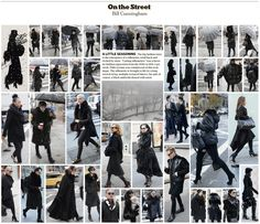 Bill Cunningham | On The Street | A Little Seasoning | December 13, 2013