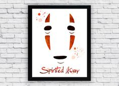 Spirited Away watercolor printable art digital download to print at home.  This is a digital file and no physical item will be shipped  Size 8x10 (20.3 x 25.4 cm) / 16x20(40.6 x 50.8 cm)  (preview image above is only a much smaller preview of actual file)  BUY 2 AND GET 1 FREE! CODE: 1FREE (ADD ALL 3 PRINT TO CART BEFORE APPLYING CODE) BUY 3 AND GET 2 FREE! CODE: 2FREE (ADD ALL 5 PRINT TO CART BEFORE APPLYING CODE)  After payment you will redirected to the download page. Click 'Download'…