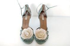 Gorgeous flower shoes