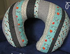 Patchwork Neck Pillow Cover | FaveQuilts.com