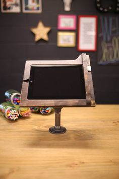 iPad Register Stand for Square Reader Industrial Chic