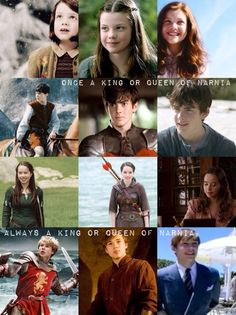 Once a king or queen of narnia always a king or queen of narnia.