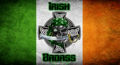 "(Irish Badass version one, made a few months ago.)  I see a lot of photos for ""Irish princesses"" but not nearly enough for us Irish guys. So this photo was made to even things out a bit. :D"