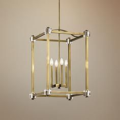 such a classic light fixture Cayden Natural Brass Large Foyer Pendant Acrylic Chandelier, Chandelier Lighting Fixtures, Foyer Chandelier, Chandelier In Living Room, Pendant Lighting, Light Fixtures, Design Page, Design Ideas, Acrylic Frames