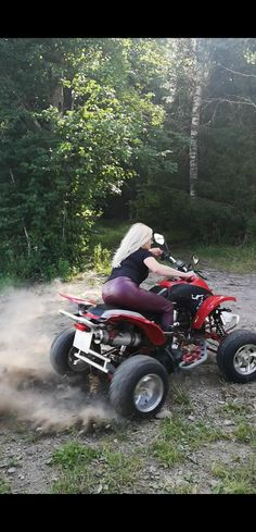 Atv, Finland, Outdoor Power Equipment, My Style, Awesome, Cowgirls, Rustic, Nice, Sexy