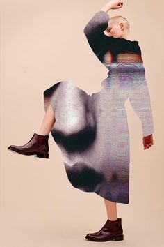 <p>Not much to say (or find) about digital artist Elodie Milan aka 'Artmour' except her intriguing mixed-media collages where she's using different fashion spreads reinterpreted by l