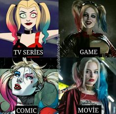 Harley Quinn Halloween, Harley Quinn Cosplay, Joker And Harley Quinn, Gotham Girls, Gotham Batman, Batman Art, Batman Robin, Poison Ivy Dc Comics, Beauty And The Beast Movie