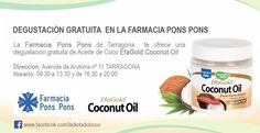 Efagold Coconut Aceite de Coco. Venta on line en www.farmaciaponspons.com