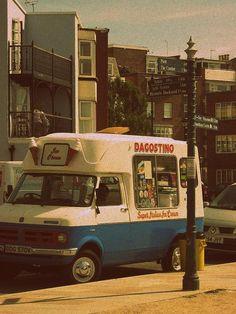 1960's Ice Cream Van in Portsmouth