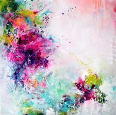 Original Kunst abstrakte große Gemälde abstrakte Kunst