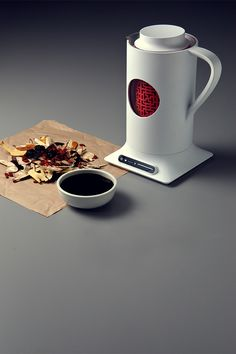 Herban Herban / Electric Kettle by Yu-Chi Chien, via Behance