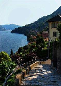 "coiour-my-world: ""Moltrasio, Italy ~ Lake Como, Lombardy "" #ItalyVacation"