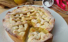 CROSTATA CUOR DI MELA – I Sapori di Casa Eton Mess, Apple Pie, Desserts, Recipes, Cakes, Cream, Strawberry Meringue, Tailgate Desserts, Apple Cobbler