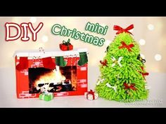 DIY Mini Christmas Decorations – Tiny Holiday Decor Ideas - Your Health and Beauty Mini Christmas Tree Decorations, Christmas Decor Diy Cheap, Diy Christmas Videos, Christmas Crafts To Sell, Decorating With Christmas Lights, Felt Christmas Ornaments, Diy Christmas Ornaments, Xmas Tree, Holiday Decor