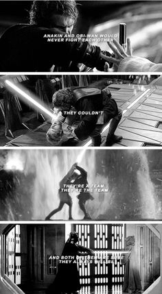 They're the team. #starwars