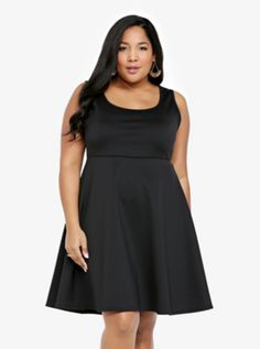Lace Back Dress (Little Black Dress)