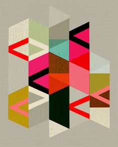 @Shannon Bellanca Stott Sosa - Good quilting inspiration, no? { Happy Habitat }: Inaluxe Geometric Print
