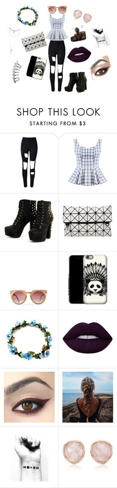 """""""Modern Wizard of Oz"""" by lexilou0131 on Polyvore featuring WithChic, Lime Crime, Monica Vinader, modern and topic"""